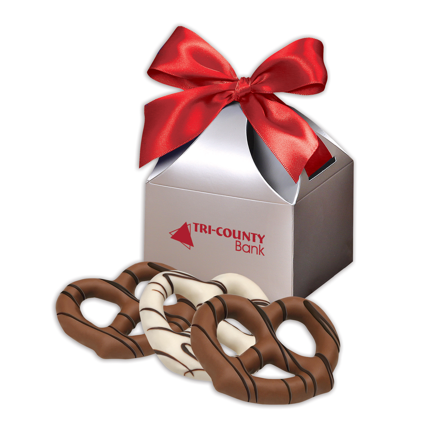 Chocolate Dipped Pretzels | Corporate Gifts | Maple Ridge Farms