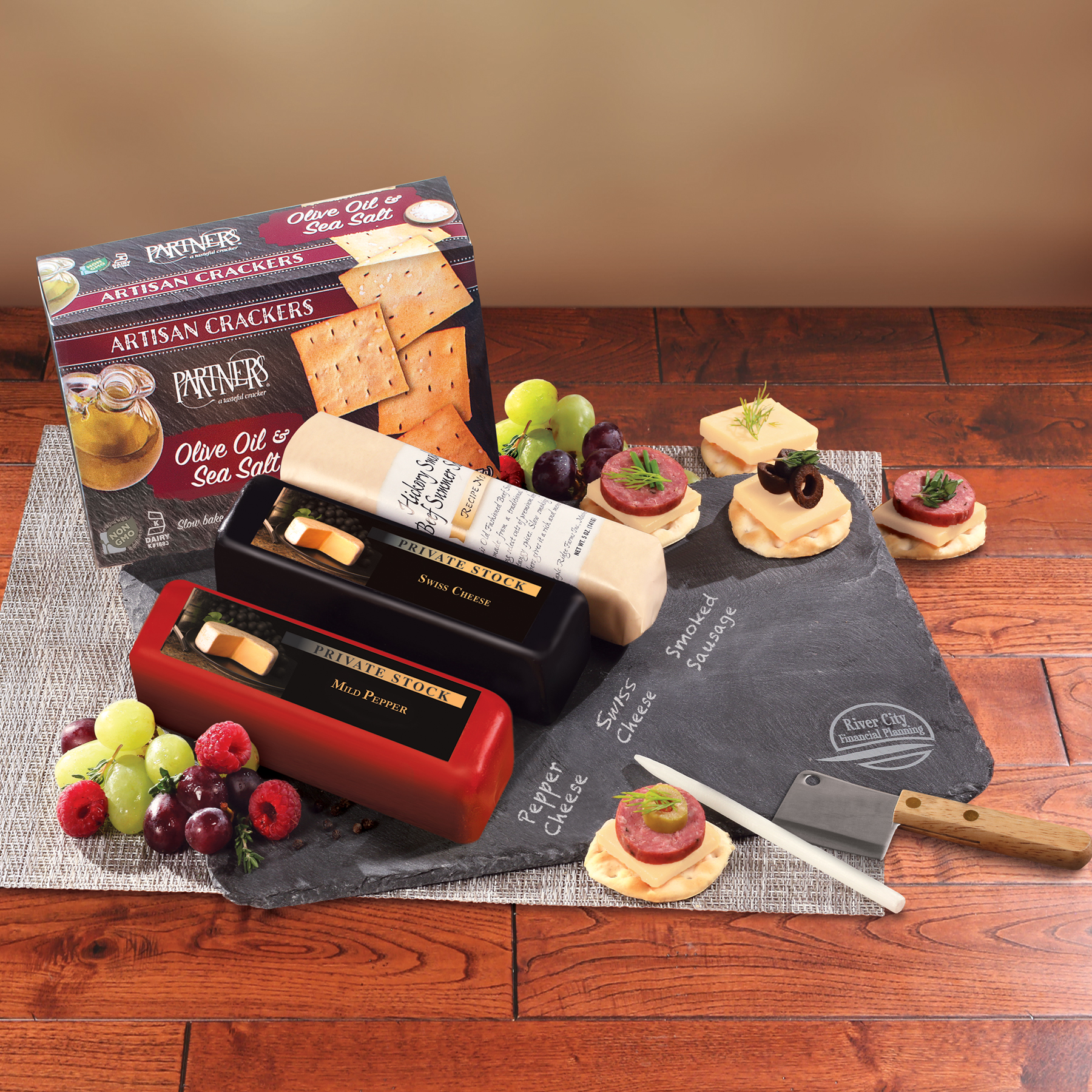 Free Ground Shipping on orders over $49 per address. More Info. Wisconsin Indulgence Gift Basket 6 Customer Ratings. Connect with the Wisconsin Cheese Mart. Connect with us on Pinterest, Facebook, and Instagram for great recipies, how-to's, and amazing deals.