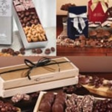 Gift Boxes Chocolate and Nuts